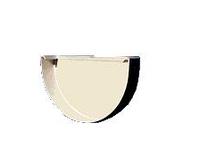 Заглушка лотка 11 Plastmo (белая, коричневая)
