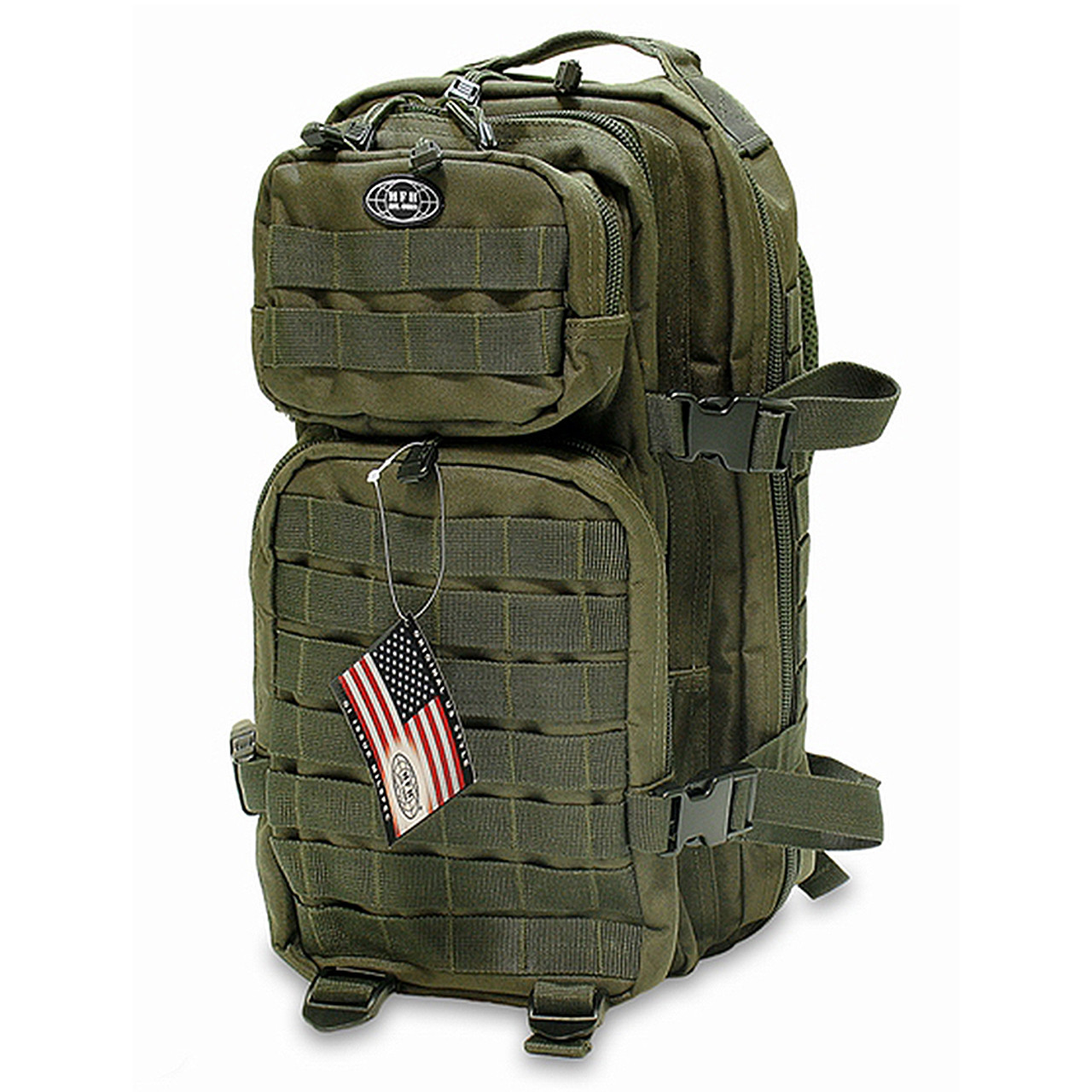 Рюкзак тактичний 30 літрів Max Fuch Assault I OD, 30л 30333B