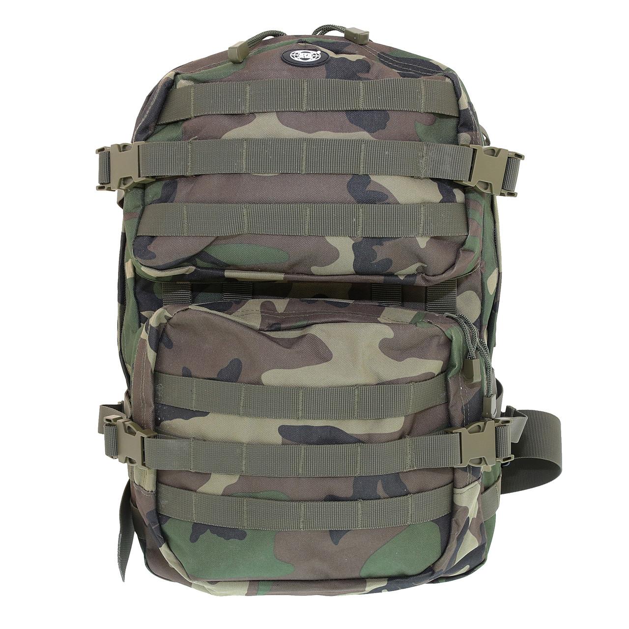 Рюкзак тактичний 40 літрів Assault II Woodland, Max Fuchs 30343T