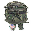 Рюкзак тактичний 40 літрів Assault II Woodland, Max Fuchs 30343T, фото 6