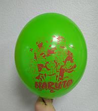 """Латексна кулька принт Naruto Наруто асорті 12 """"30см Belbal ТМ"""" Star """""""