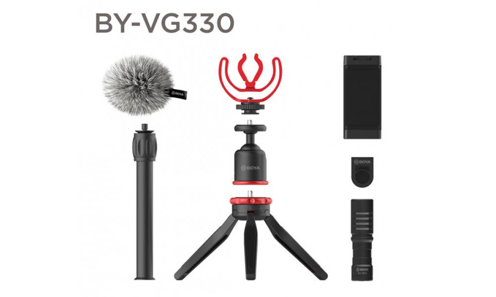 Комплект для смартфона Boya BY-VG330 (BY-VG330) (196819)