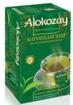 Чай зелений Алокозай Марокканський з м'ятою 25 шт.