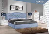 Двуспальная кровать с мягким изголовьем Скарлетт ТМ Richman, фото 1