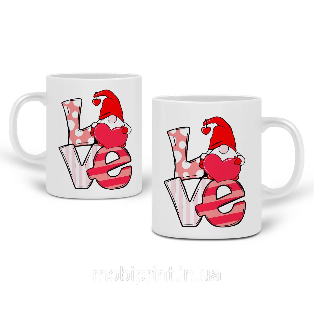 Кружка Любов (Love) 330 мл Чашка Керамічна (20259-2645)