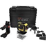 4D Лазерный уровень 16 линий LSP LX-4D Servo, фото 2