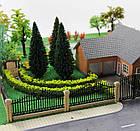 Основа для дерева 10 см, каркас, для диорам, миниатюр, детского творчества, фото 3