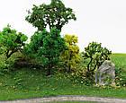 Основа для дерева 10 см, каркас, для диорам, миниатюр, детского творчества, фото 5