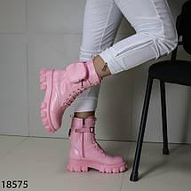 Кожаные демисезонные ботинки 18575 (SH), фото 3
