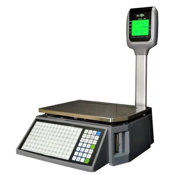 Весы торговые с печатью этикетки RLS1000D (Rongta) (15 кг)