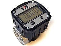Точный электронный счетчик для дизтоплива К-600В/3 (до100 л/мин) F00491000 PIUSI Италия,наиболее морозостойкий