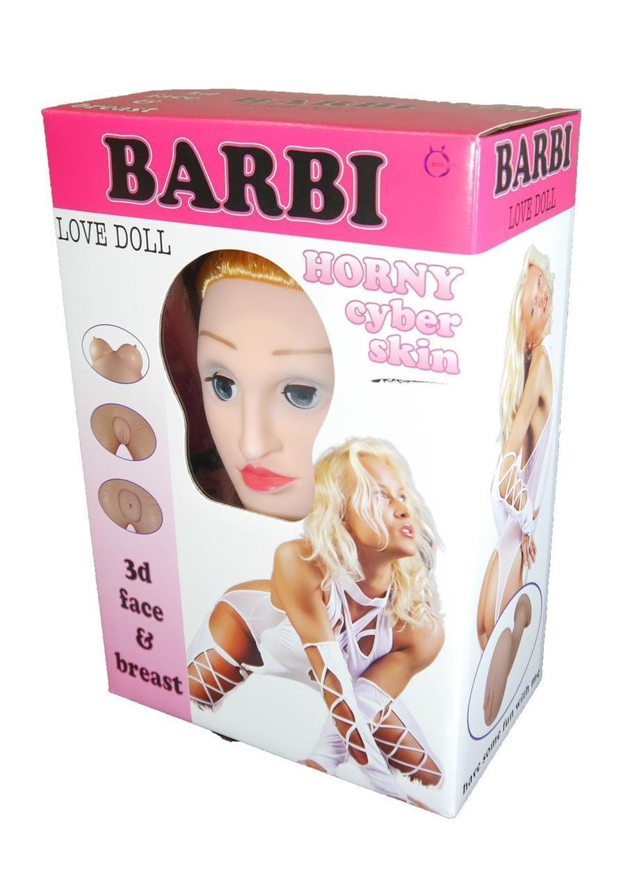 """Кукла BARBI- 3D- Барби - 3Д""""- Надувная полноростовая кукла, с вагинальной и анальной вставкой из киберкожи"""