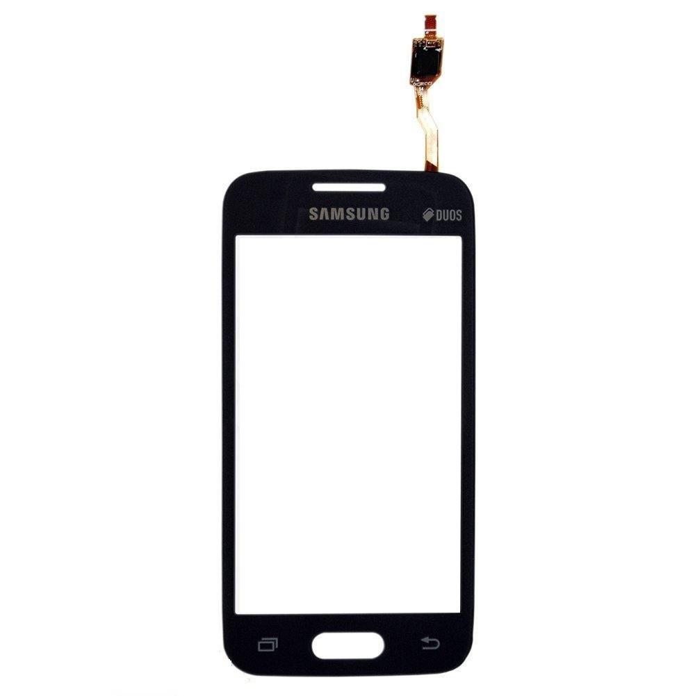 Сенсор (Тачскрин) для Samsung G313HN Galaxy Ace 4 | G313HU С отверстием камеры (Черный) Оригинал Китай