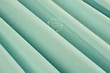 Лоскут ткани однотонная бязь светло-мятного цвета, размер 41*80 см, фото 4