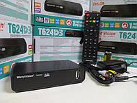 Т2 тюнер для цифрового телевидения dvb/t2 World Vision T624D3