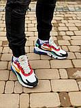 Кросівки чоловічі Nіke Air Max 270 React в стилі найк аір макс сірі (Репліка ААА+), фото 4