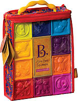 Развивающие силиконовые кубики - ПОСЧИТАЙ-КА! (10 кубиков, в сумочке)