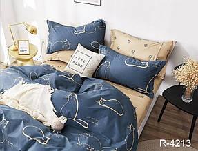 Двухспальный комплект постельного белья ранфорс ТМ TAG R4213