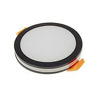 Світильник точковий LED HDL-DS 144 BK 11W, фото 1