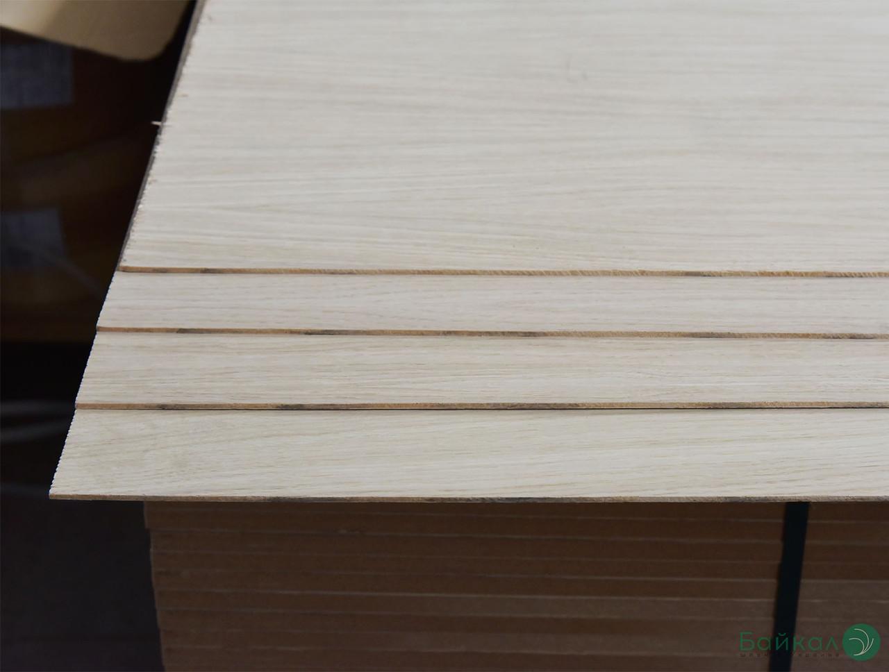 МДФ плита шпонована Дубом 9 мм А/В 2,80х2,07 м