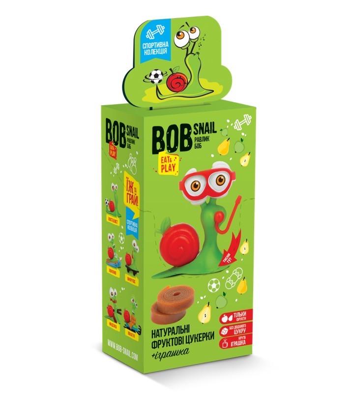 Набір пастила яблуко-груша + іграшка Snail Bob