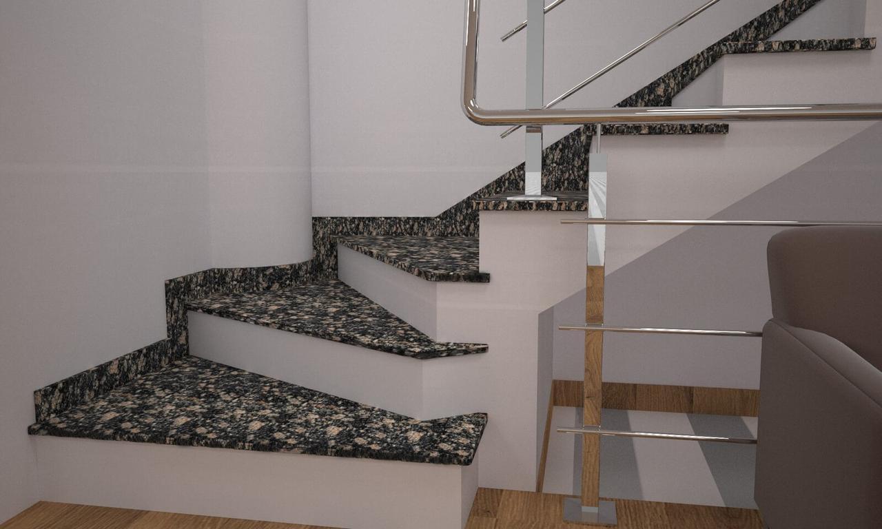 Сходи, стільниці, підвіконня з Корнінського граніту