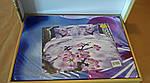 Комплект постельного белья ELWAY (Польша) 3D LUX Сатин Евро Подарочная упаковка (165), фото 2