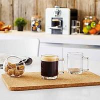 Стеклянная кружка для чая с квадратной ручкой Luminarc Фитнес 250 мл (N4715)