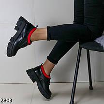 Туфли женские кожаные 2803 (SH), фото 2