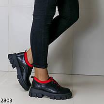 Туфли женские кожаные 2803 (SH), фото 3