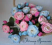 Троянди з цукерками поштучні