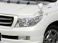 Реснички Toyota Land Cruiser 200, накладки на фары Тойота Ленд Крузер 200