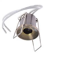 Світильник точковий маленький HDL-DJ 10 AB, фото 1