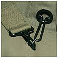 Баул вещевой мешок армейский  с плечевым креплением тёмно-зелёный  MFH 30505B, фото 2