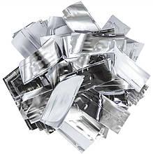 Конфетті-Метафан Срібно-Білий 2х6 1кг (13327)
