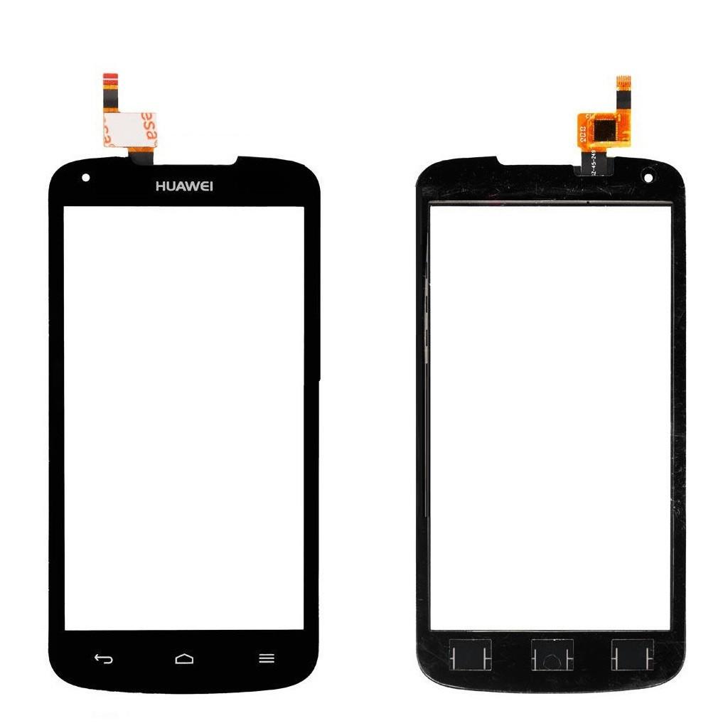 Сенсор (Тачскрін) для телефону Huawei Ascend Y520 U22 (Чорний) Оригінал Китай