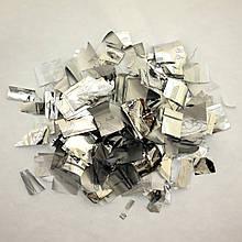 Конфетті Метафан Silver (срібло), 1кг (1000S)