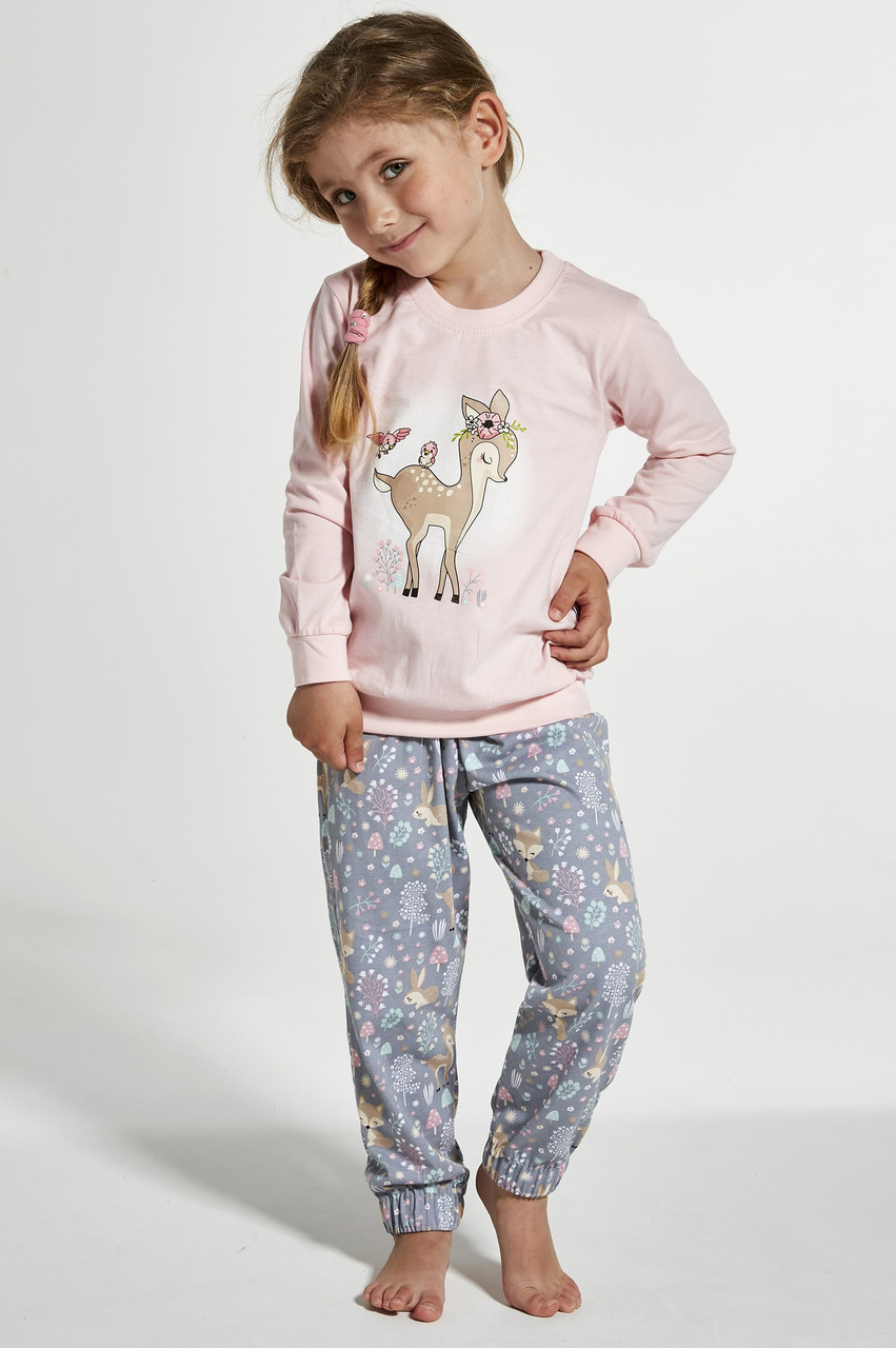 Пижама хлопковая для девочки Cornette Roe 594/122, 110-116
