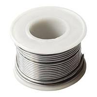 Припій для паяльника 100г. D-1.00 мм, 40% олово, 60% свинець INTERTOOL RT-2065