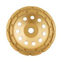 Фреза торцева шліфувальна алмазна 180x22,2 мм INTERTOOL CT-6180