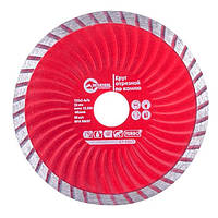 Диск отрезной Turbo, алмазный 125 мм, 22-24% INTERTOOL CT-2007