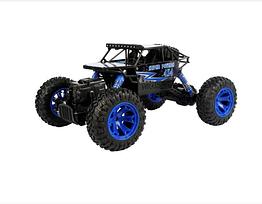 Машина на радиоуправлении Rock Crawler Синий внедорожник вездеход, цвет синий