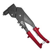 Пистолет заклепочный ручной поворотный на 360°, диаметр заклепки 3,2; 4; 4,8 мм INTERTOOL RT-0009