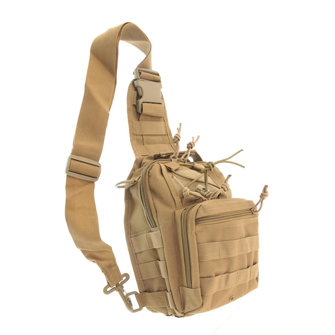 Рюкзак тактичний однолямочный малий 10 літрів Max Fuchs Molle