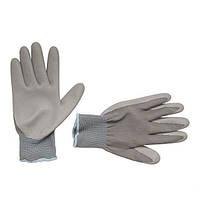 """Рукавички трикотажні з нітриловим покриттям, 10"""" INTERTOOL SP-0122"""
