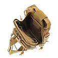 Рюкзак тактичний однолямочный малий 10 літрів Max Fuchs Molle, фото 7