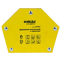Магнит для сварки трапеция 22кг 90×54×54×43мм (30,45,60,75,90,135°) SIGMA (4270351)