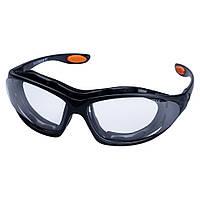 Набор очки защитные с обтюратором и сменными дужками Super Zoom anti-scratch, anti-fog (прозрачные) SIGMA