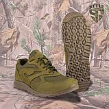 Кросівки трекінгові PANTHERA олива кордура, фото 4