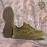 Кросівки трекінгові PANTHERA олива кордура, фото 5